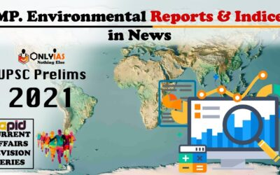 Environmental REPORTS & INDICES in NEWS | UPSC Prelims 2021 | Rapid CA Revision